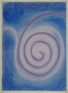 Spirale_Kreidezeichnung